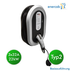 EVCharge station  T2 3x32A 5m + DC