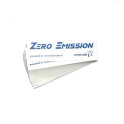 Sticker trans ZERO EMISSION