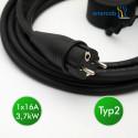 enercab flexible free T2 16A-230SCHUKO