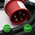 enercab flexible LED T2 3x32A-400CEE