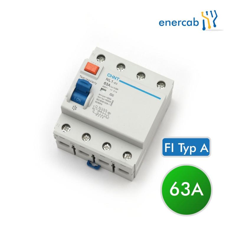 FI Typ A 40A 30mAC 4P (N+3L) 400V
