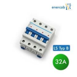 LS Typ B 16A 6kA 4P (N+3L) 400V
