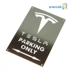 Tesla Parkplatzschild