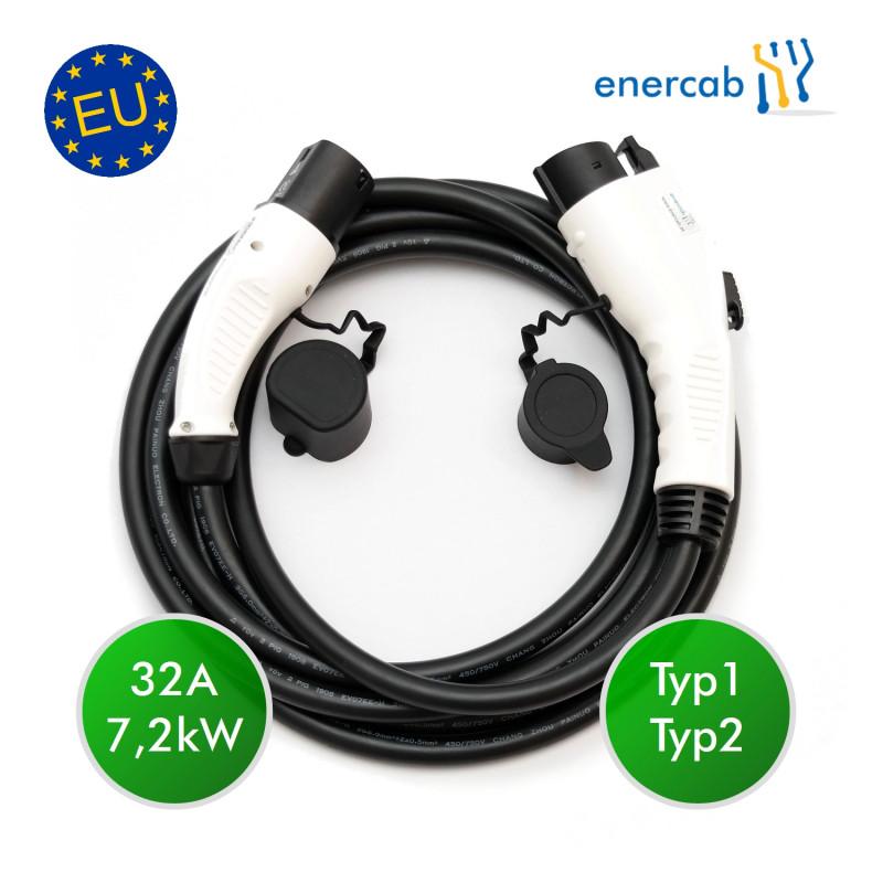 enercab plus Typ1-Typ2 32A 7,4kW