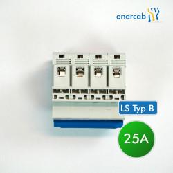 LS Typ B 25A 6kA 4P (N+3L) 400V