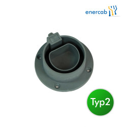 plug holder T2 grau