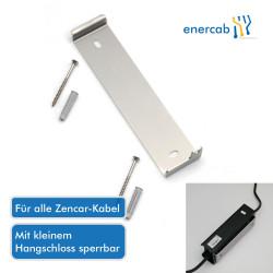 Wandhalterung für Zencar-Kabel