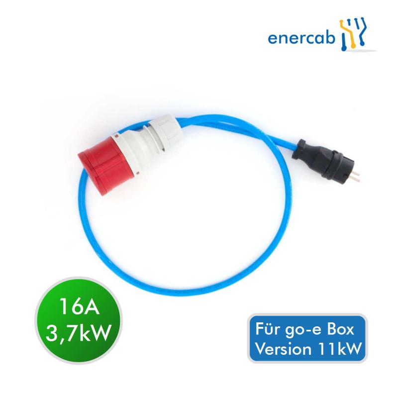 go-e Schutzkontakt Adapter (für 11kW-Charger)