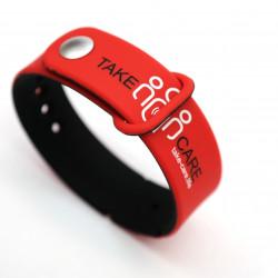 Tace Care loop 16/23 rot/schwarz