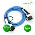 enercab blue Typ2 3x16A 11kW