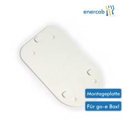 go-e Montageplatte