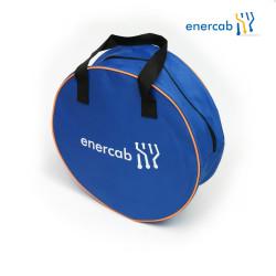 enercab Kabeltasche blau mit Logo