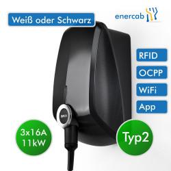 EVBox Elvi V2 Wi-Fi, 11 kW (3x16A), 6m Kabel