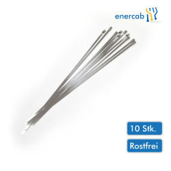 10Stk. Metallkabelbinder 4,6x360 Niro