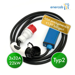 enercab flexible free T2 3x32A-400CEE