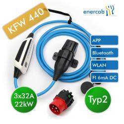 NRGkick KFW Select WLAN Bluetooth 11kW 5m (+)