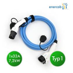enercab blue Typ1-Typ2 32A 7,4kW