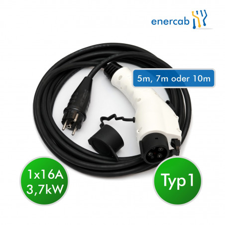 enercab flexible free T1 16A-230SCHUKO