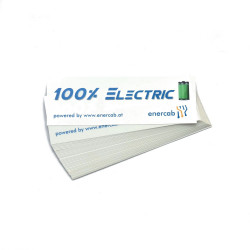 Sticker trans 100% ELECTRIC
