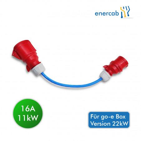 go-e 16A CEE Adapter Rot