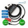 Zencar flexible free T2 32A-400CEE/Schuko