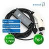 Zencar flexible free T1 16A-Schuko