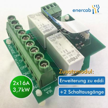 eddi – Relais & Sensor Board