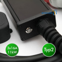 enercab flexible free T2 3x16A-400CEE